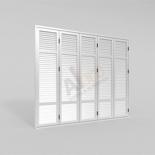 Folding Shutter Five Sashes