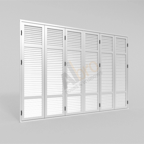 Folding Shutter Six Sashes